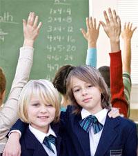 Lattare lasa laxor i skolan